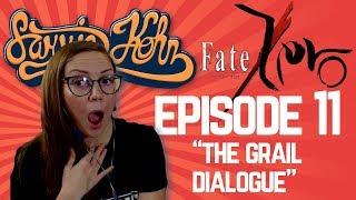 """Fate/Zero Episode 11 Reaction - """"The Grail Dialogue"""""""