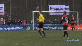 Eintracht Frankfurt gewinnt Testspiel in Oberrad