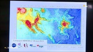Naissance d'un nouveau volcan sous-marin à Mayotte