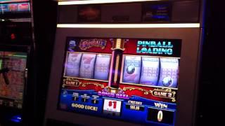 High Roller Room Pinball Slot Machine Casino Game Bonus Round Free Spins