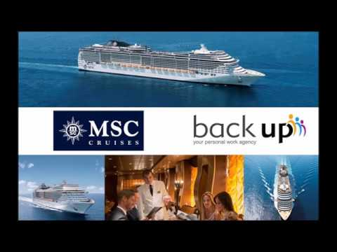 Job Interviews mit MSC Cruises
