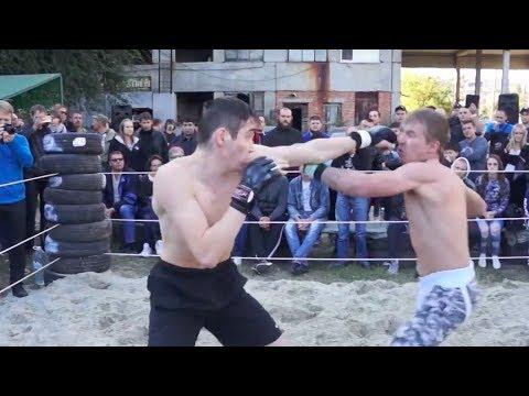 Военный ВДВ против Рукопашника на улице