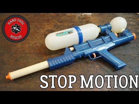 [Stop-Motion Restoration] 1990s Super Soaker Water Gun
