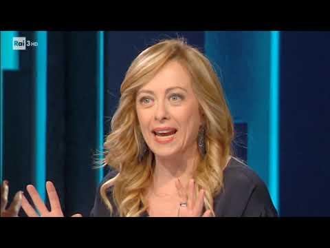 Non perdere Giorgia Meloni su Rai tre da Bianca Berlinguer a Carta Bianca