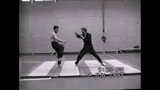 1997 old footage Martial Arts Demo by Patrick Baas & Olivier Boas