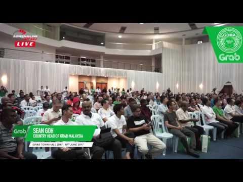Grab Town Hall 2017 - Forum Soal Jawab Antara Pemandu dan Pengurusan GRAB.
