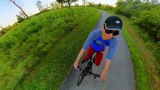 Insta360 Mountain Bike Trail Riding