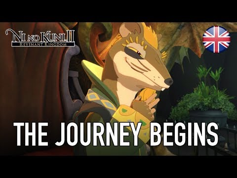 Ni no Kuni II: Revenant Kingdom - PS4/PC - The journey begins (First 15 minutes video)