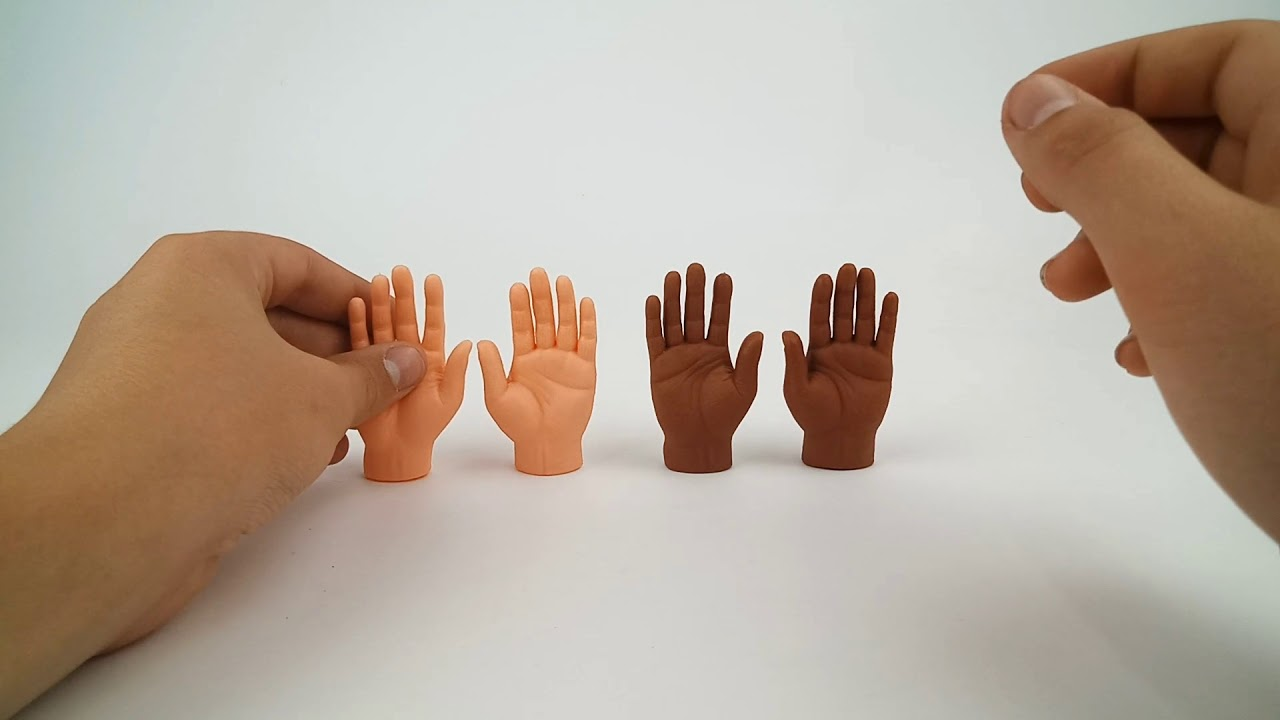 cc2194d41 Finger Hand Finger Puppet | A hand that goes hand in hand with your hand.