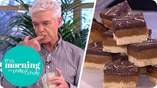 Phil Vickery's Deliciously Naughty Millionaire's Shortbread | This Morning