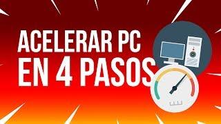 Como ACELERAR MI PC AL MÁXIMO CON 4 SENCILLOS TRUCOS [Sin Programas] 2019