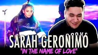 Sarah Geronimo - In The Name Of Love | Martin Garrix/Bebe Rexha Cover REACTION!!!