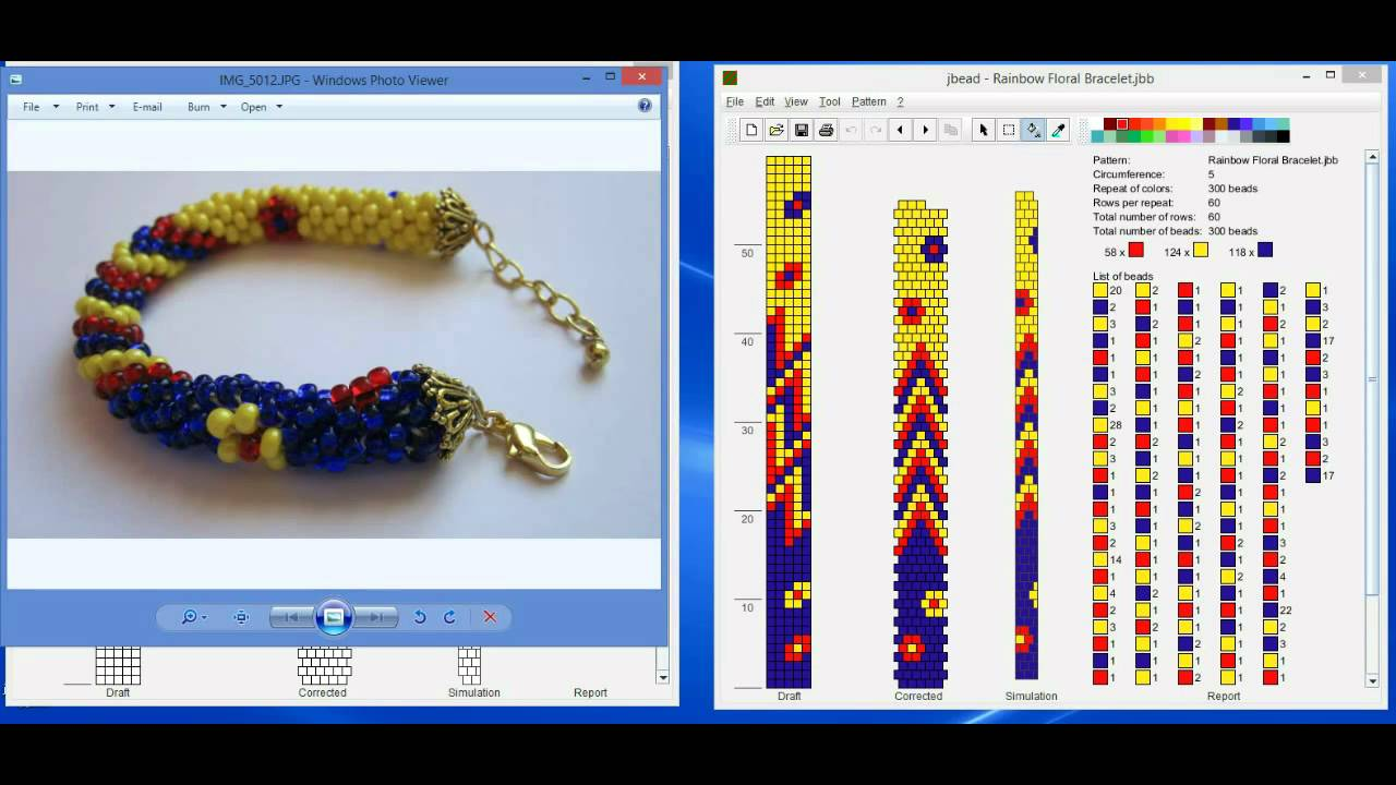 Design Tubular Bead Crochet Jewelry Patterns With Jbead