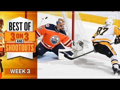 Best 3-on-3 OT and Shootout Moments from Week 3