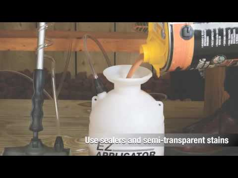 Hudson Ez Licator Deck And Fence Sprayer System Video Overview Hd