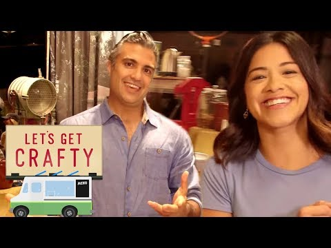 Download Youtube: Let's Get Crafty: On the Set of 'Jane the Virgin' with Gina Rodriguez and Jaime Camil