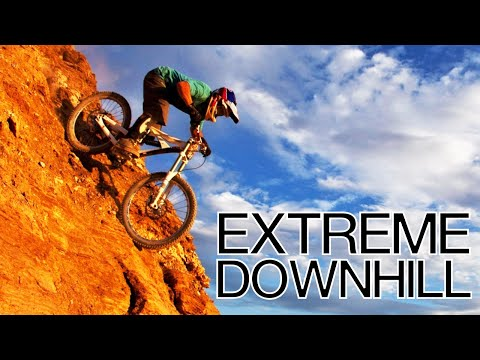 Insanely Extreme Downhill Ride