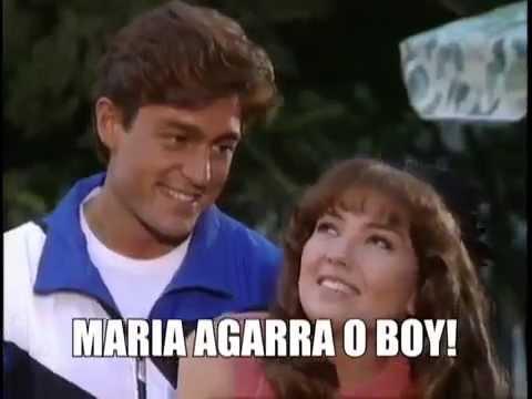 اعلان مسلسل ماريا ابنة الحي في البرازيل Maria La Del Barrio Promo in Brasil