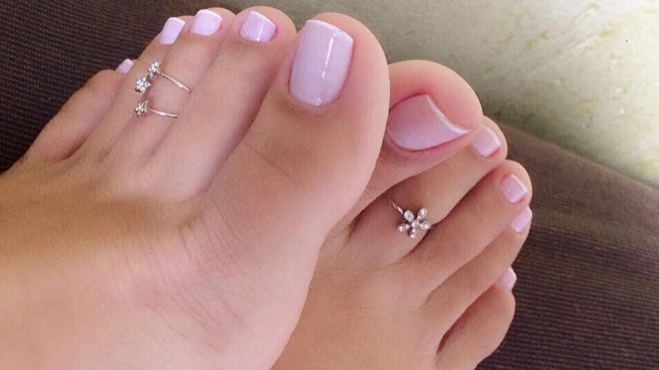 Foot jewelry - Trendy toe ring designs for women - YouTube