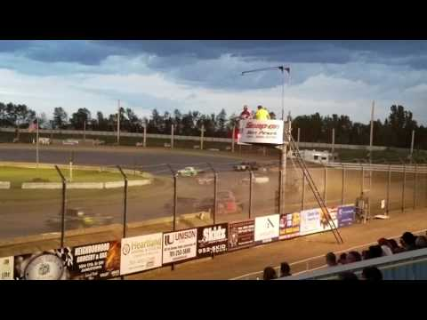 Jamestown Speedway - Wissota Street Feature, 7/4/17
