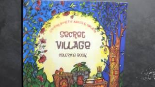 Secret Village Coloring Book   New Technique!!
