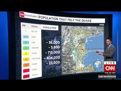 Deadly earthquake strikes Tanzania