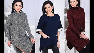 👗❄👼🎄Winter Lookbook 2017/Knitted Dress/Winter Outfit