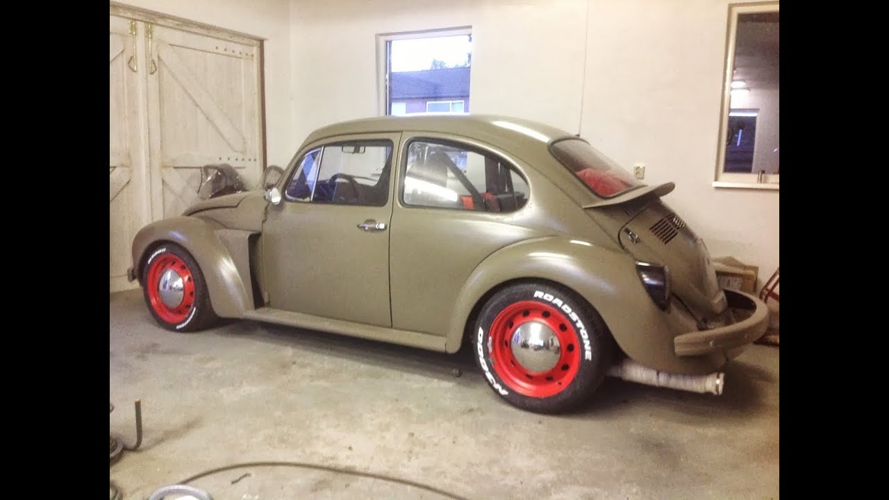 vw bug turbo hp street racing ej sti powered project subaru part  youtube