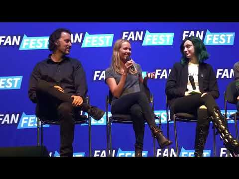 Amy Acker - The Gifted panel - Who would win Root or the mutants?