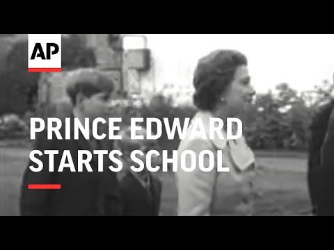 Prince Edward Starts School - 1972