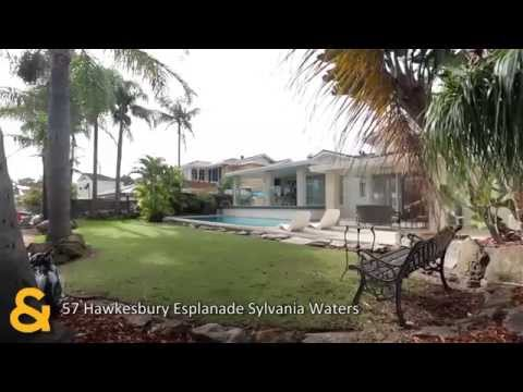 Raine & Horne Sans Souci Property Video - 57 Hawkesbury Esplanade Sylvania Waters NSW 2224 Australia