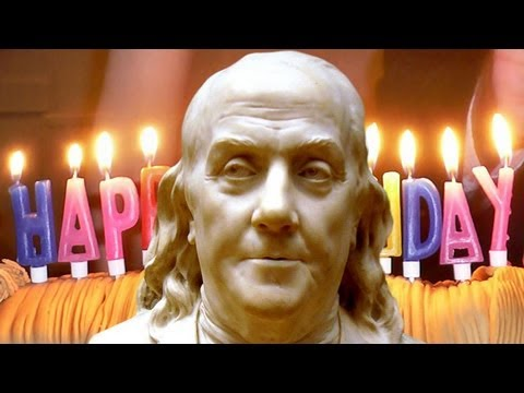 benjamin franklin birthday Ben Franklin's Birthday Celebrated January 17th   YouTube benjamin franklin birthday
