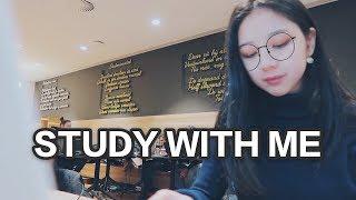 Study with me | 图书馆背景声 | 25min 学习陪伴视频 | 无音乐 thumbnail
