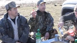 Классная охота на гусей калмыкия 2014