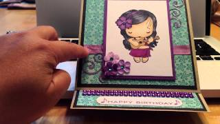 2 Card Shares: Center Fold & Easel Card