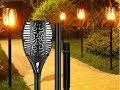 Christmas Gift Solar Garden Flame Torch Light Flicker IP65 Waterproof Hanging Decorative Lamp