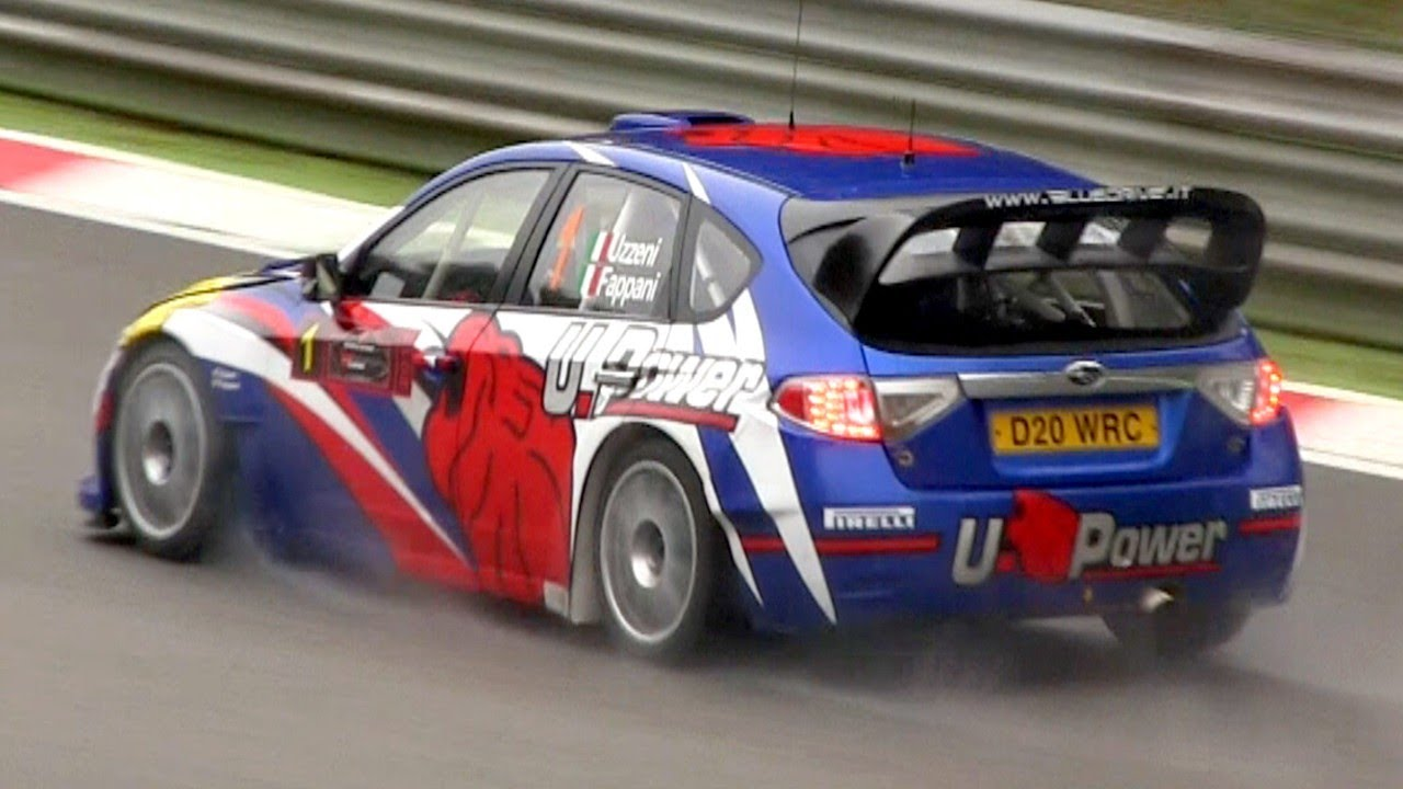 First Team Subaru >> Subaru Impreza WRC2008 (S14) - In Action with Pure Sounds - YouTube