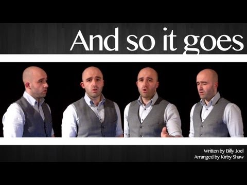 And so it goes (Billy Joel) - A cappella multitrack 2013