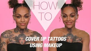 HOW TO | Cover Tattoos With Makeup | Superdrug