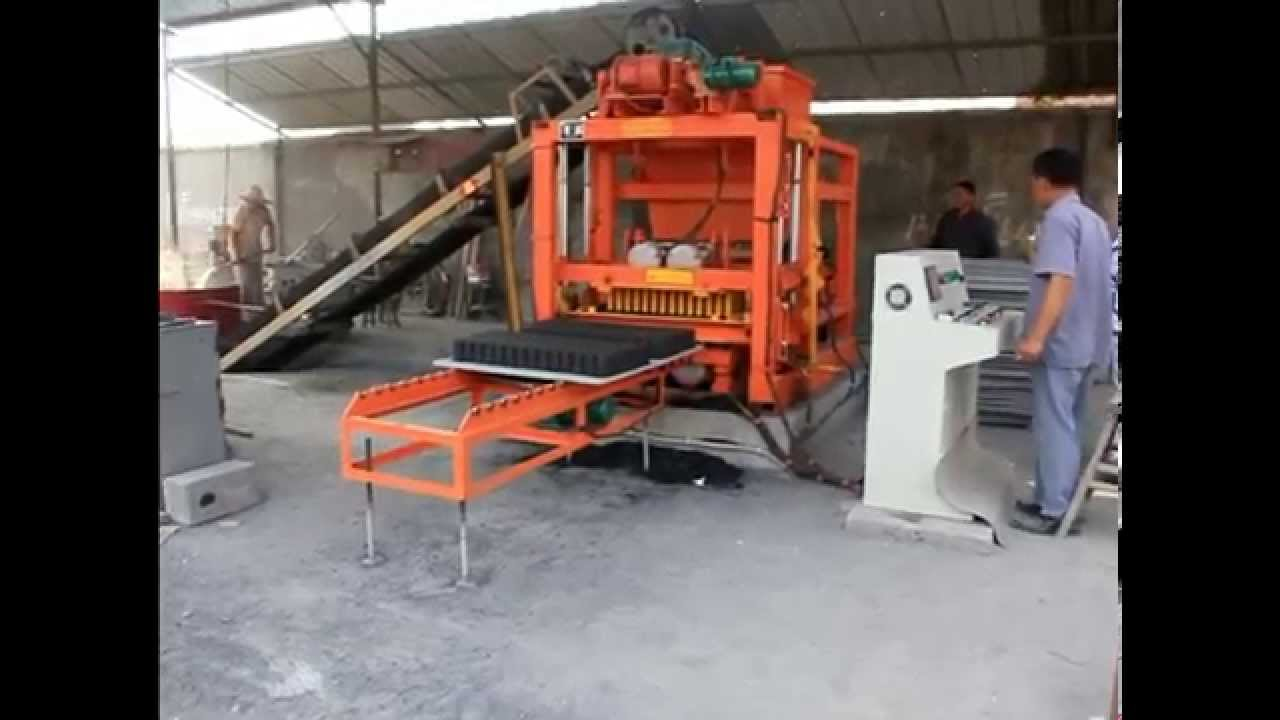 Qtj4 25 Used Concrete Block Making Machine For Sale