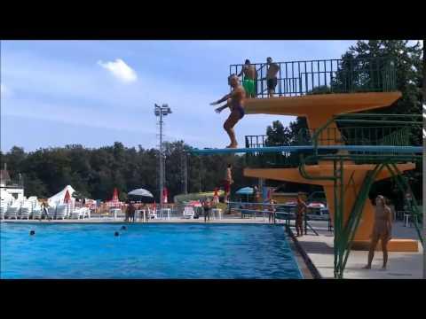Nando tuffo teso da 3 mt piscina di limbiate youtube for Piscina limbiate