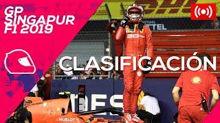 GP de Singapur F1 2019 - Directo clasificación