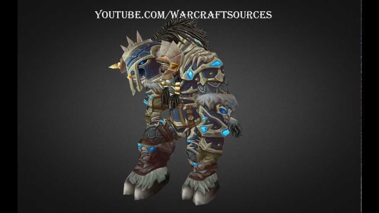 Tauren Death Knight Challenge Mode Set Lich Lord Armor
