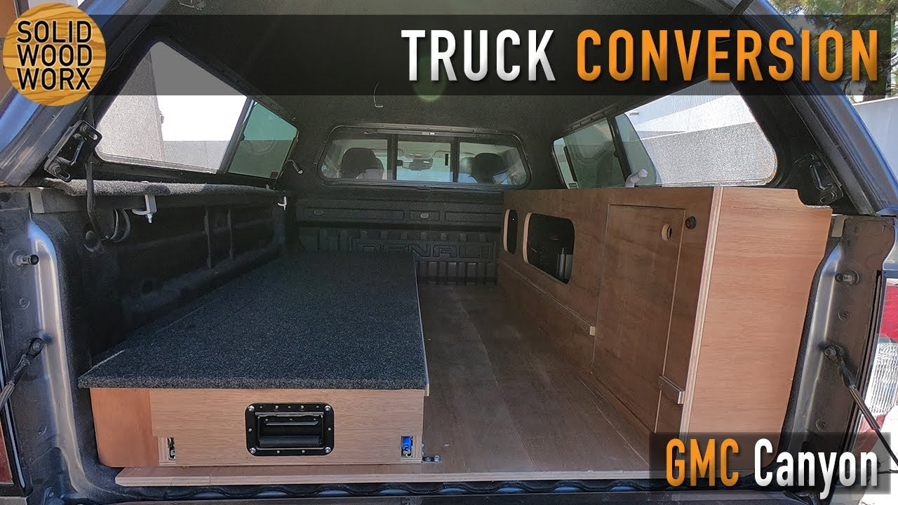 GMC Canyon Camper Buildout