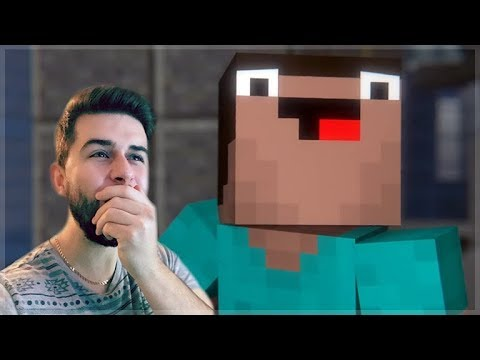 REACTING TO MURDER MYSTERY MINECRAFT MOVIE! Minecraft Animations!