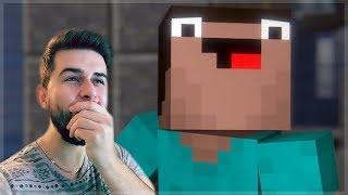 REACTING TO MURDER MYSTERY MINECRAFT MOVIE! Minecraft Animations!