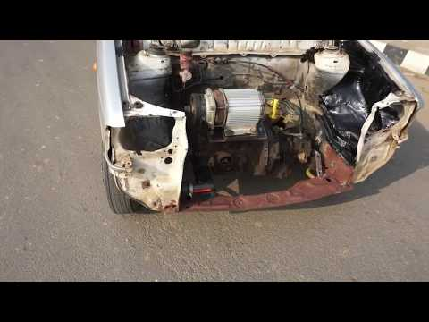 How Easy To Make A Electric Car (50km/h Using Maruti 800 Car)