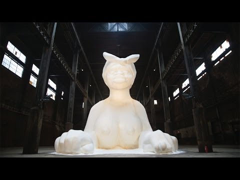 Kara Walker's Giant Sphinx at Domino Sugar Factory