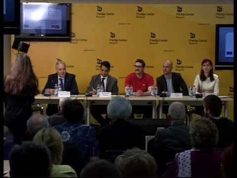 Introduction to Ageing: Press conference Medija Centar, Belgrade, 16 April 2015  short version