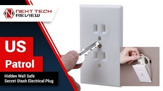 US Patrol Hidden Wall Safe Secret Stash Electrical Plug Product Review  – NTR
